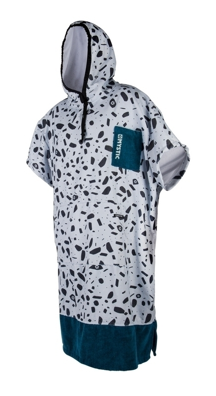 PONCHO MYSTIC 2018 PONCHO ALLOVER TEAL