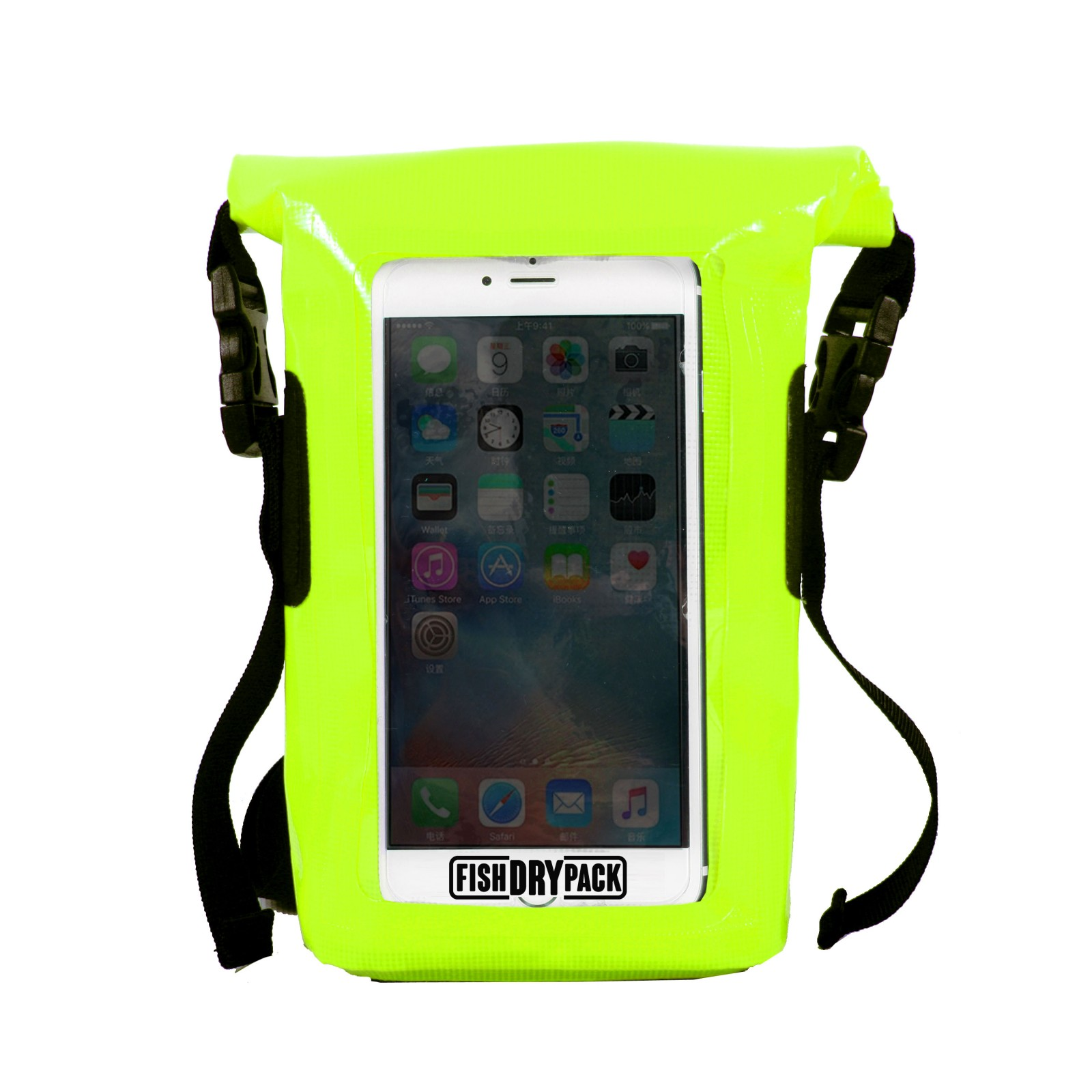 Saszetka FishDryPack Mini NEON YELLOW