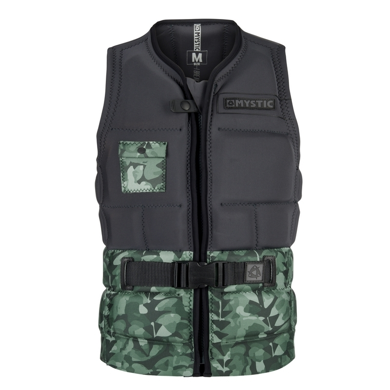 2018 MYSTIC SHRED WAKE VEST GREEN