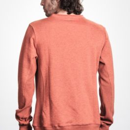BLUZA MYSTIC 2017 COMMON SWEAT BURNED ORANGE_2