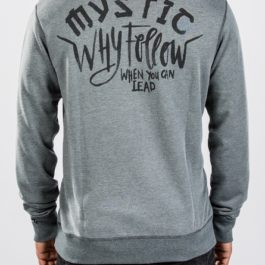 BLUZA MYSTIC 2018 REAR SWEAT ROCK GREY_2