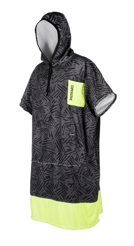 PONCHO MYSTIC 2018 PONCHO ALLOVER LIME
