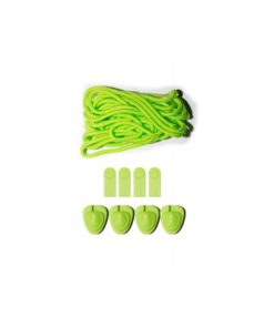 Zestaw do sznurowania wiązań Liquid Force Lace Lock Kit Green