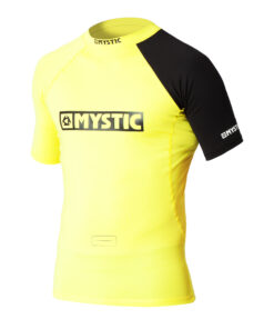 Mystic Event S/S Rashvest Yellow
