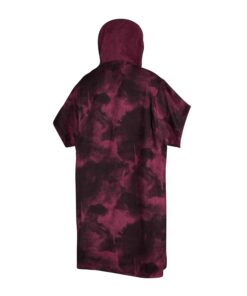 Mystic Poncho Allover Oxblood Oxblood Red-2