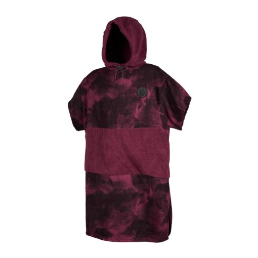 Mystic Poncho Allover Oxblood Oxblood Red
