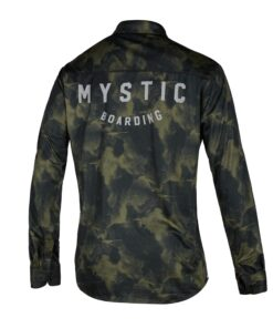 Mystic Shred L/S Quickdry Brave Green-2