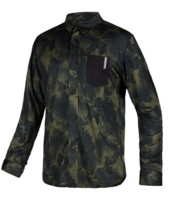 Mystic Shred L/S Quickdry Brave Green
