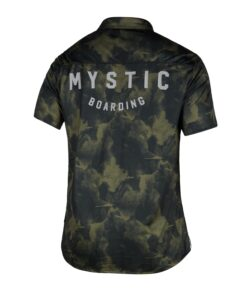 Mystic Shred S/S Quickdry Brave Green-2