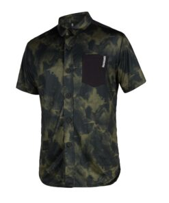 Mystic Shred S/S Quickdry Brave Green
