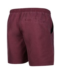 Boardshorty Mystic Brand Swim Boardshort Oxblood Red-2