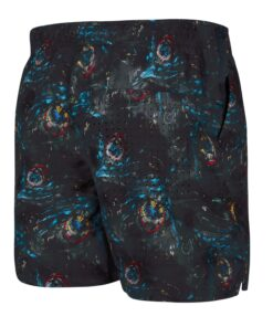 Boardshorty Mystic Coast Boardshort Black Allover-2