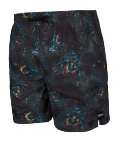 Boardshorty Mystic Coast Boardshort Black Allover