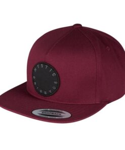 Czapka Mystic Marsh Cap Oxblood Red