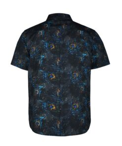 Koszula Mystic Party Shirt Black Allover-2