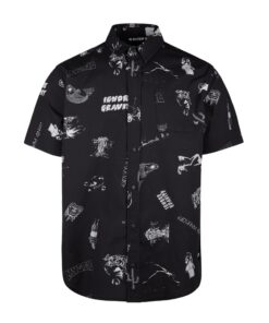 Koszula Mystic Party Shirt Black/White