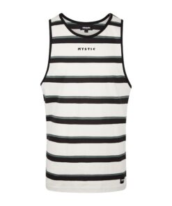 Tank Top Mystic Abstract Singlet White/Black